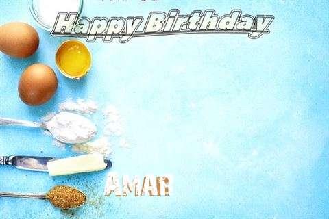 Happy Birthday Cake for Amar