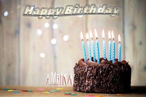 Happy Birthday Ambika