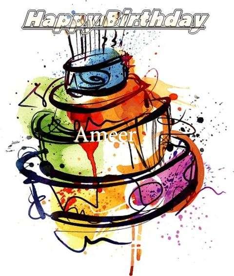 Happy Birthday Ameer