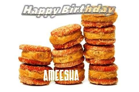 Happy Birthday Cake for Ameesha