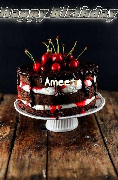 Happy Birthday Ameeta
