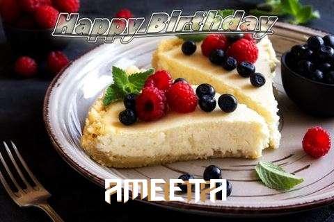 Happy Birthday Wishes for Ameeta