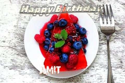 Happy Birthday Cake for Amit