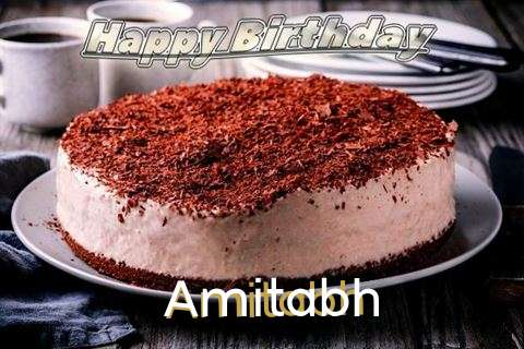 Happy Birthday Cake for Amitabh