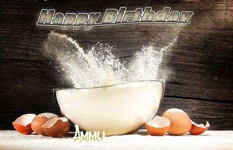 Happy Birthday Cake for Ammu
