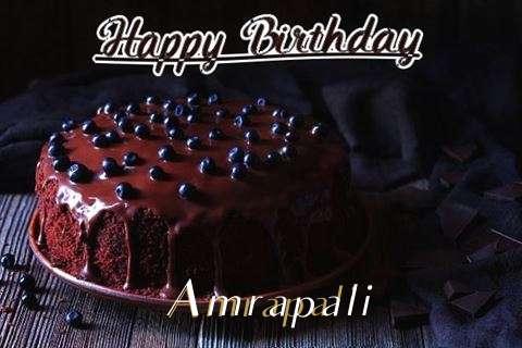 Happy Birthday Cake for Amrapali