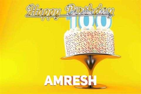 Happy Birthday Wishes for Amresh