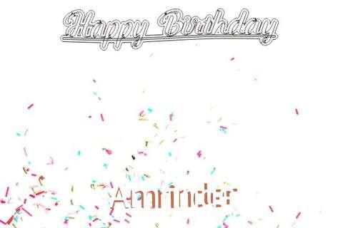 Happy Birthday to You Amrinder