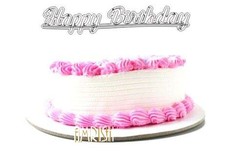 Happy Birthday Wishes for Amrish