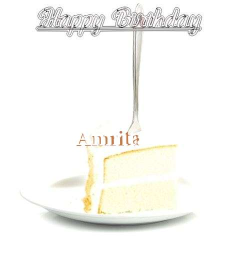 Happy Birthday Wishes for Amrita