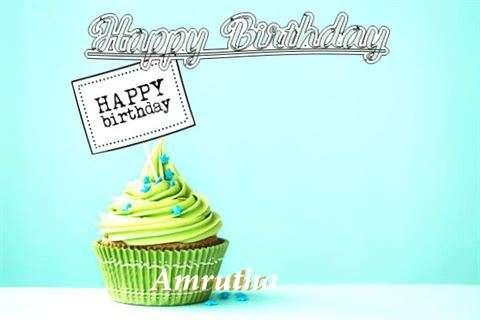 Happy Birthday to You Amrutha