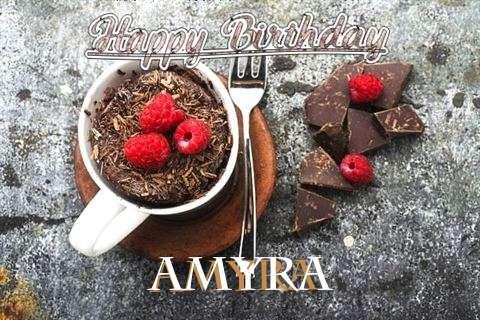 Happy Birthday Wishes for Amyra
