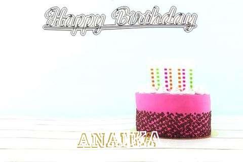 Happy Birthday to You Anaika