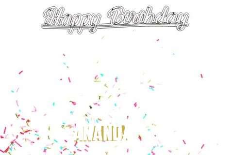 Happy Birthday to You Ananda