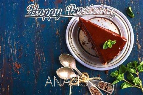 Happy Birthday Anang Cake Image