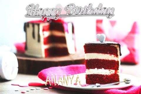 Happy Birthday Wishes for Ananya