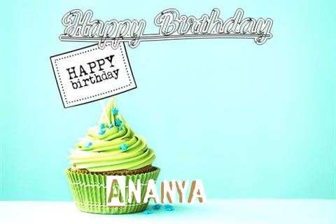 Happy Birthday to You Ananya