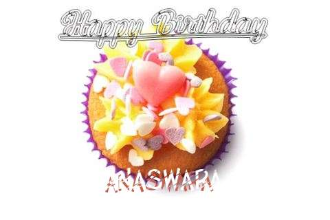 Happy Birthday Anaswara Cake Image