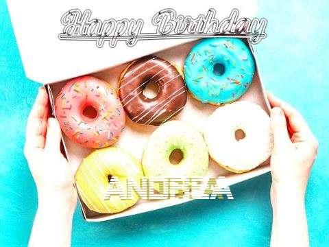 Happy Birthday Andrea Cake Image