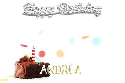 Happy Birthday Cake for Andrea
