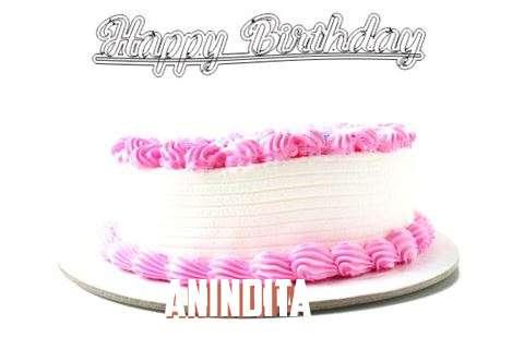 Happy Birthday Wishes for Anindita