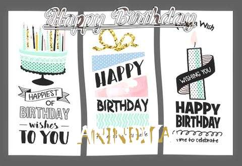 Happy Birthday to You Anindita