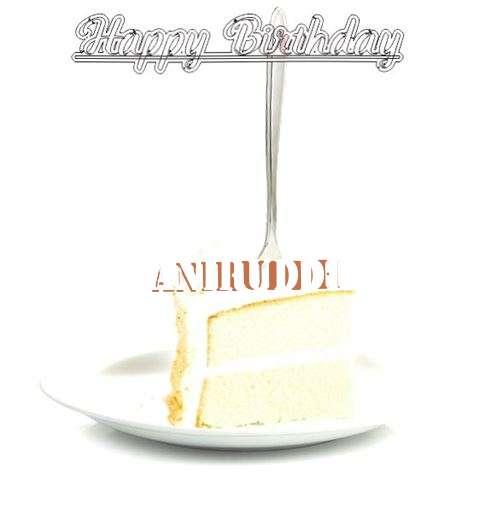 Happy Birthday Wishes for Aniruddh