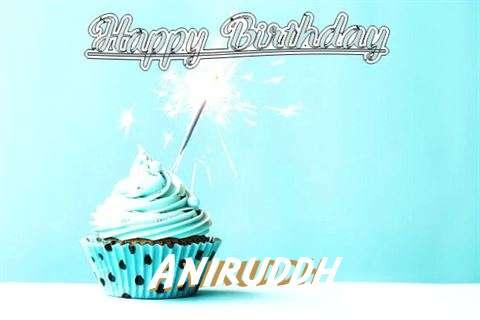 Happy Birthday Cake for Aniruddh