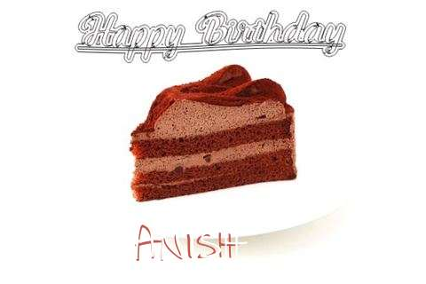 Happy Birthday Wishes for Anish