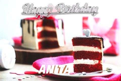 Happy Birthday Wishes for Anita
