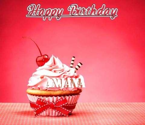 Birthday Images for Anjana