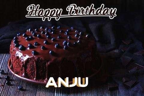 Happy Birthday Cake for Anju