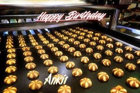 Happy Birthday Cake for Ankit