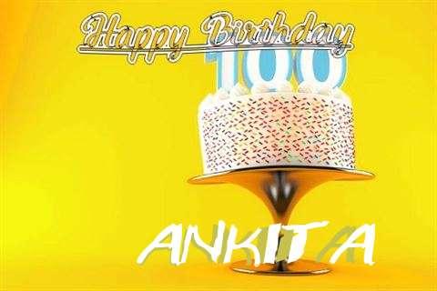 Happy Birthday Wishes for Ankita