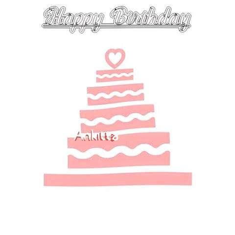 Happy Birthday Ankitta Cake Image
