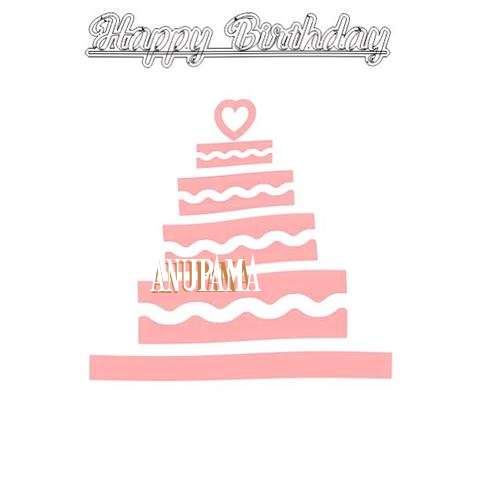 Happy Birthday Anupama Cake Image