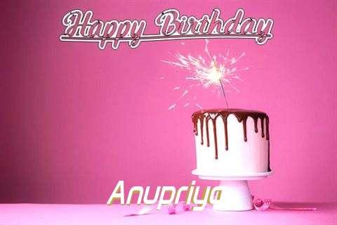 Birthday Images for Anupriya