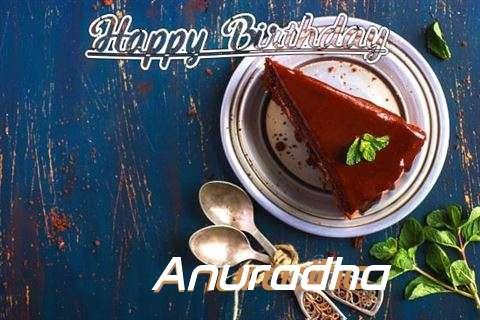 Happy Birthday Anuradha Cake Image