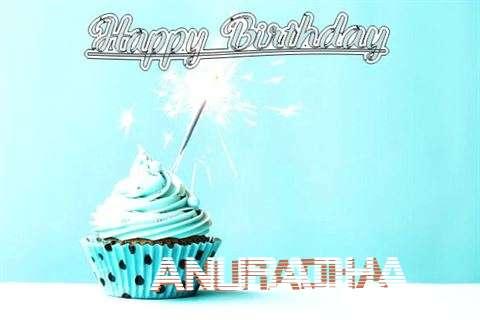 Happy Birthday Cake for Anuradha