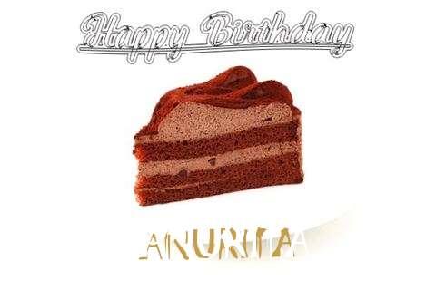 Happy Birthday Wishes for Anurita
