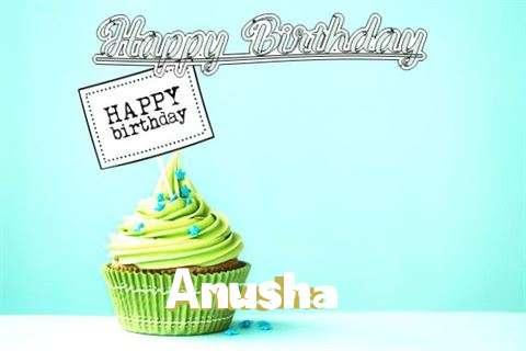 Happy Birthday to You Anusha