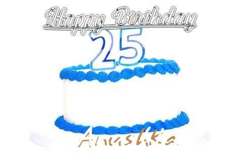 Happy Birthday Anushka Cake Image