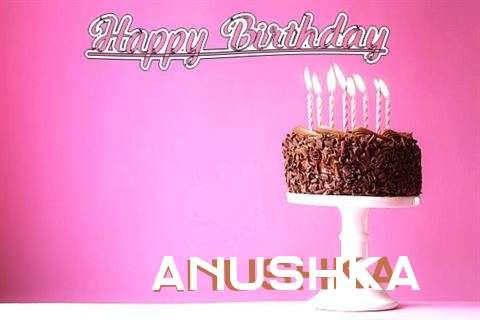 Happy Birthday Cake for Anushka