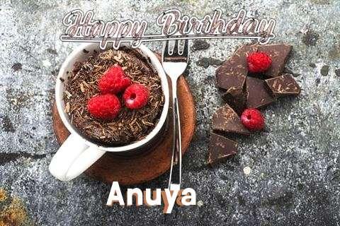 Happy Birthday Wishes for Anuya