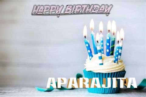 Happy Birthday Aparajita Cake Image