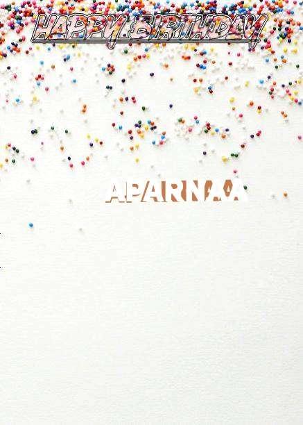 Happy Birthday Aparnaa