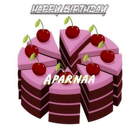 Happy Birthday Cake for Aparnaa