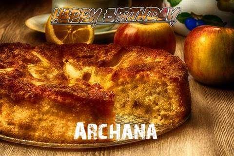 Happy Birthday Wishes for Archana
