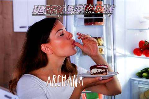 Happy Birthday to You Archana