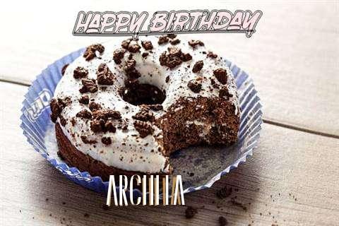 Happy Birthday Archita